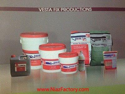 چسب کاشی و سرامیک و پودر بندکشی- وستا فیکس (وستا شیمی):
